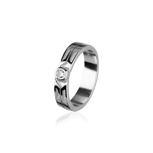 Cupid Silver Ring CR158