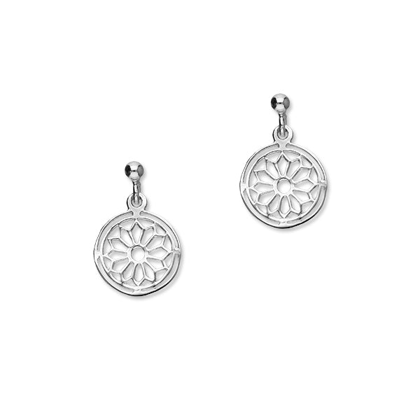Orkney Traditional Silver Earrings E121