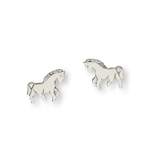 Wildlife Silver Earrings E124