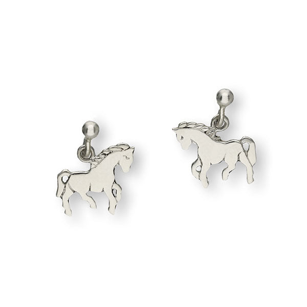 Wildlife Silver Earrings E131