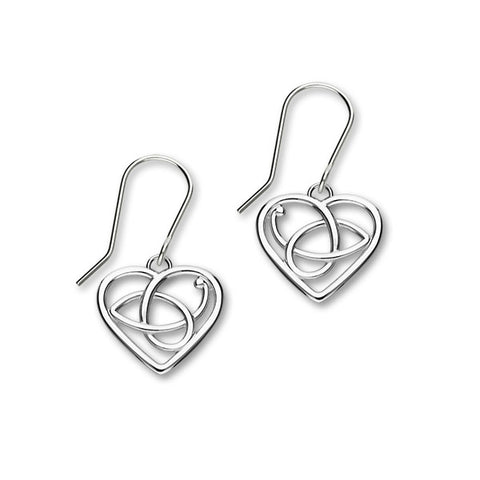 Scottish Silver Earrings E1363