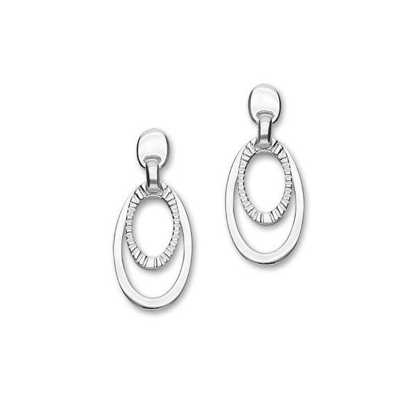 True Silver Earrings E1455