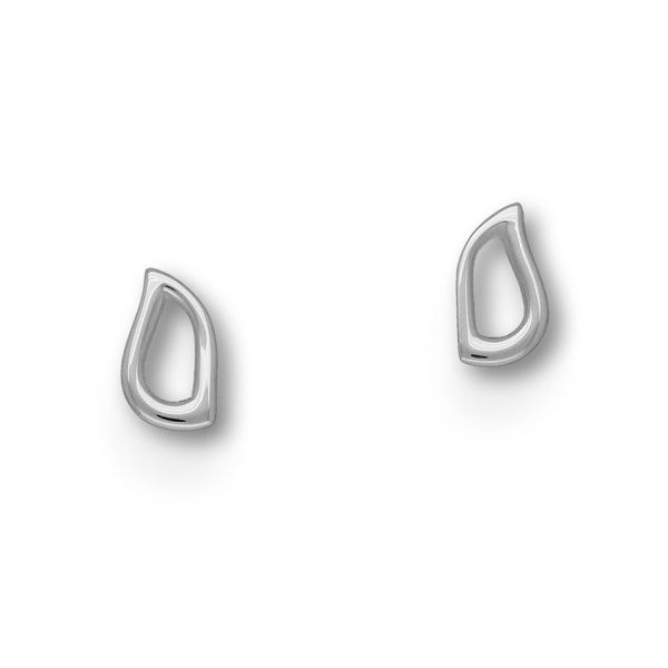 Flourish Silver Earrings E1660