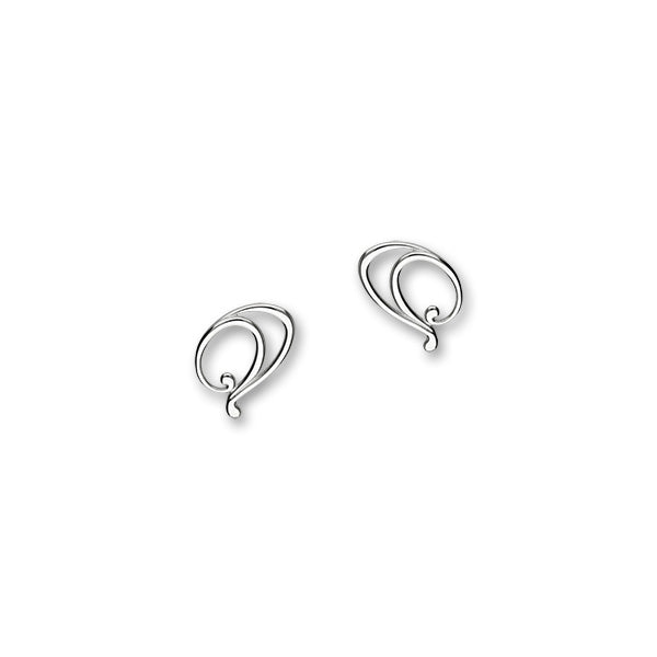 Retreat Silver Earrings E1686
