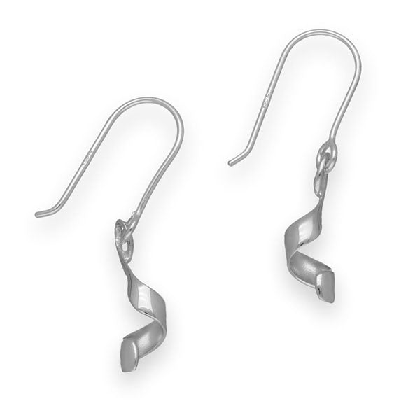 Twist & Shout Silver Earrings E1728