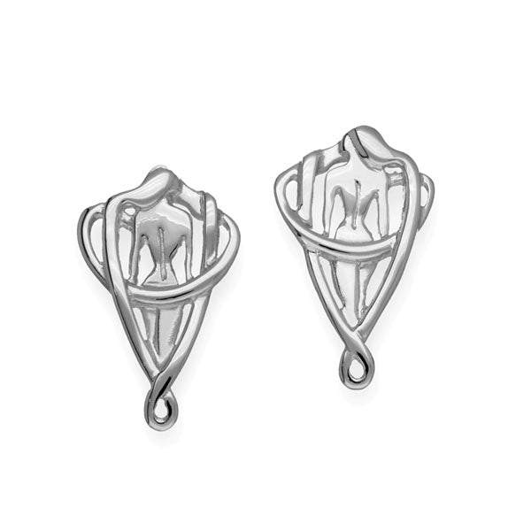 Simply Stylish Silver Earrings E1747