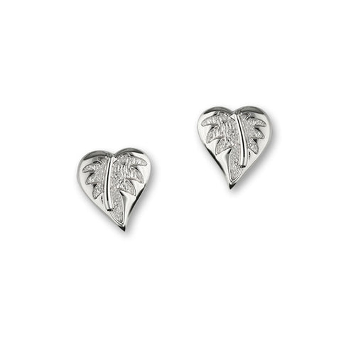 Borneo Silver Earrings E1758