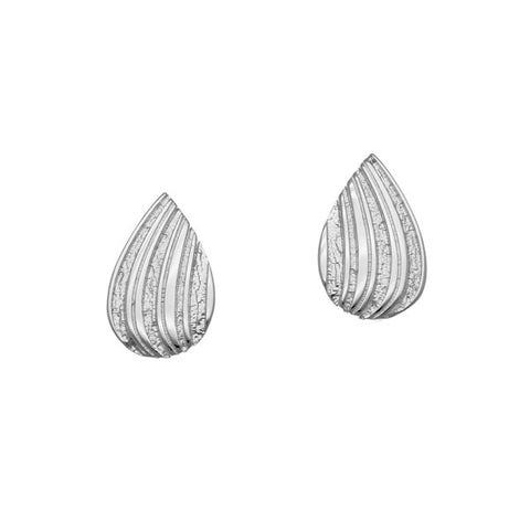 Honeycomb Silver Earrings E1761