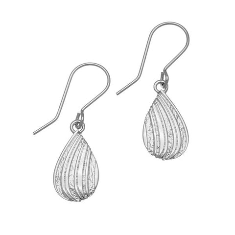 Honeycomb Silver Earrings E1762