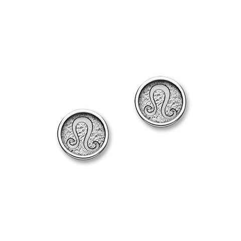 Zodiac Silver Earrings E1854 Leo