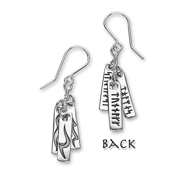 ST ABBS Silver Earrings E1905