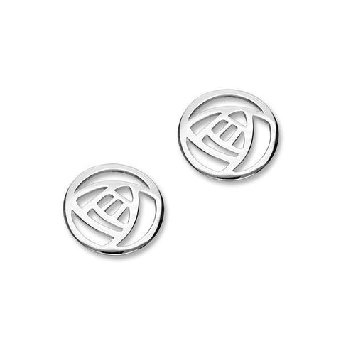 Charles Rennie Mackintosh Silver Earrings E469