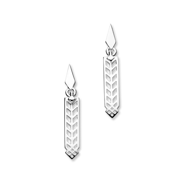 Frank Lloyd Wright Silver Earrings E609