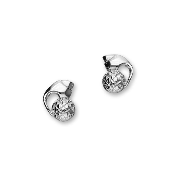 Thistle Silver Earrings E694