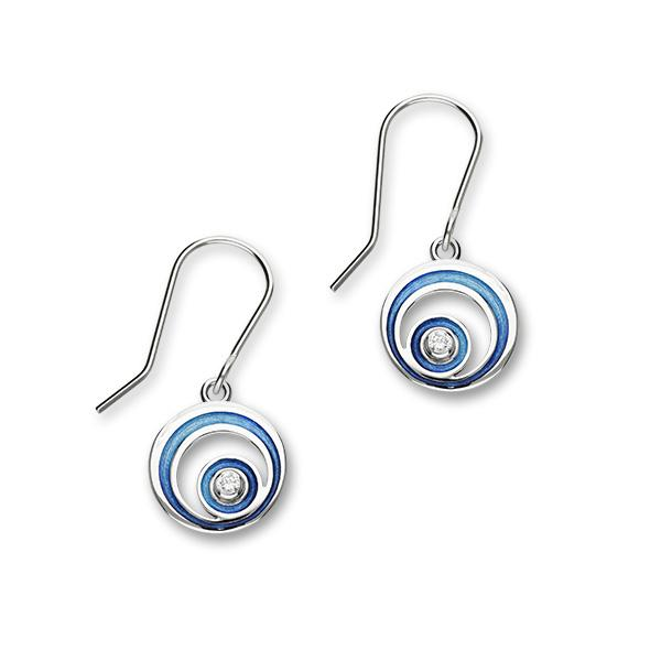 Orbit   Silver Earrings ECE13