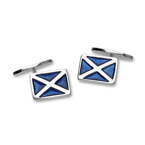 Scottish Silver Cufflinks ECL113