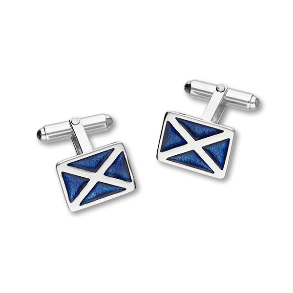 Scottish Silver Cufflinks ECL58