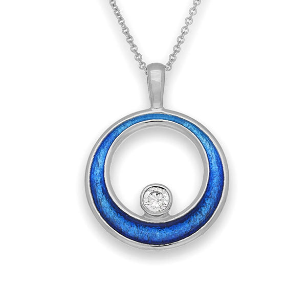 New Dawn Silver Pendant ECP16
