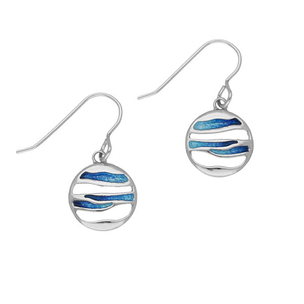 Orbit Silver Earrings EE343