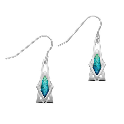 Ritzy Silver Earrings EE466