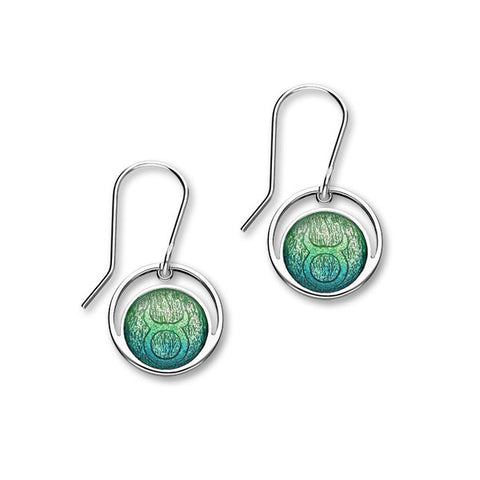 Zodiac Silver Earrings EE568 Taurus