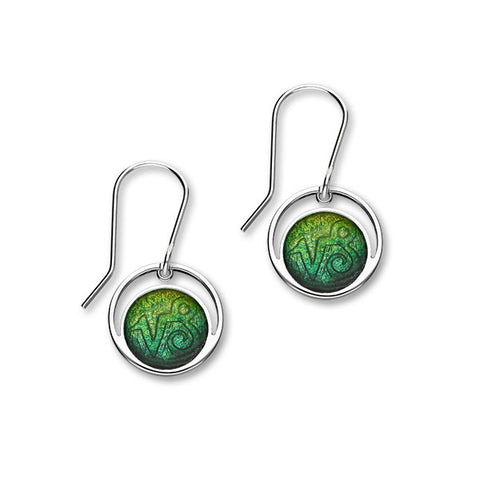 Zodiac Silver Earrings EE569 Capricorn