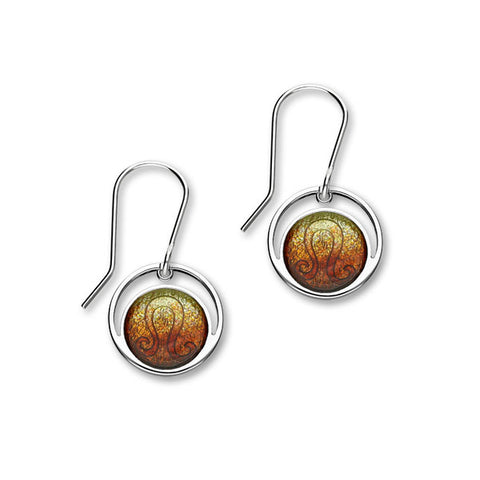 Zodiac Silver Earrings EE572 Leo