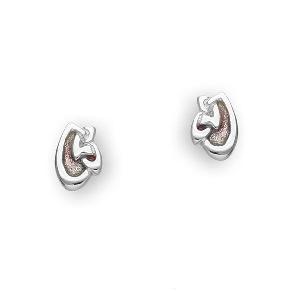 Archibald Knox Silver Earrings EE72