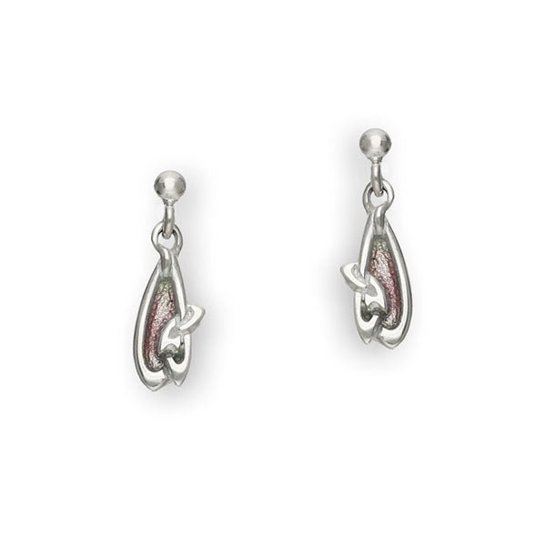 Archibald Knox Silver Earrings EE73