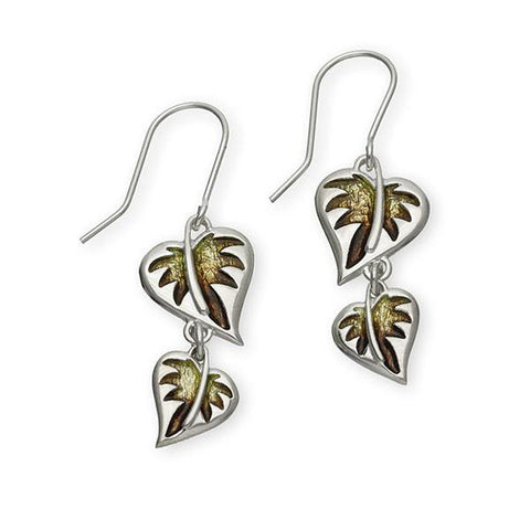 Borneo Silver Earrings EE451