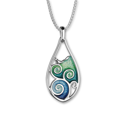 Tranquility Silver Pendant EP222
