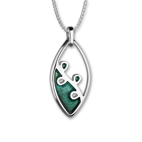 Tranquillity Silver Pendant EP226