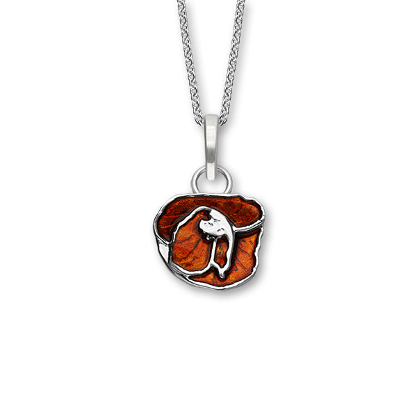Poppies Silver Pendant EP419
