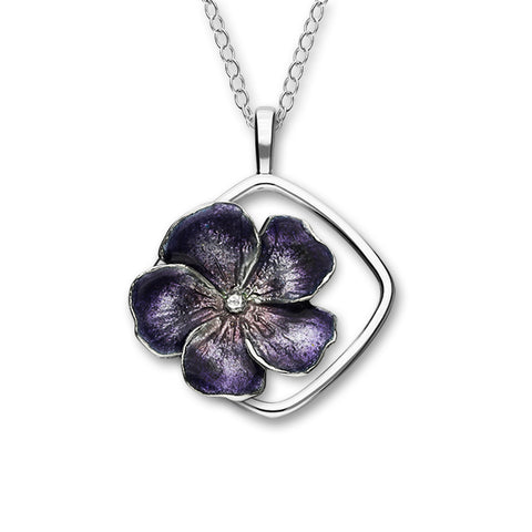 Birth Flowers Silver Pendant EP438