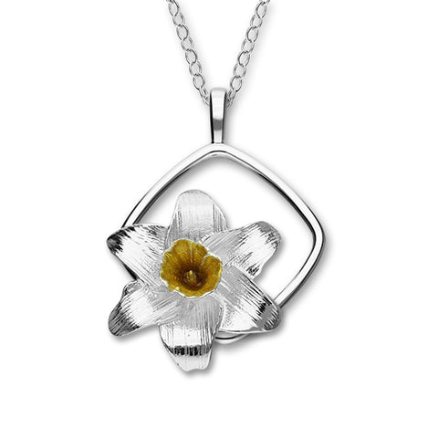 Birth Flowers Silver Pendant EP439