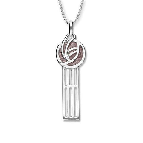 Charles Rennie Mackintosh Silver Pendant EP53