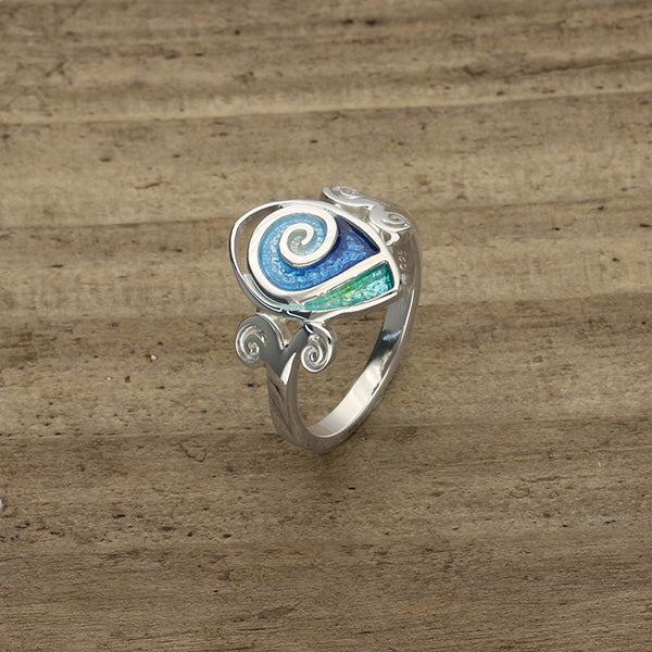 Tranquillity Silver Ring ER104