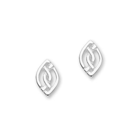 Celtic Silver Earrings E1806