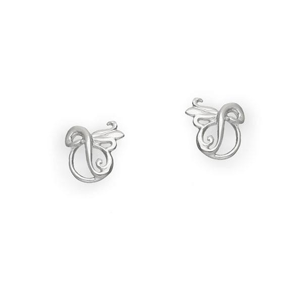 Art Nouveau Silver Earrings E238