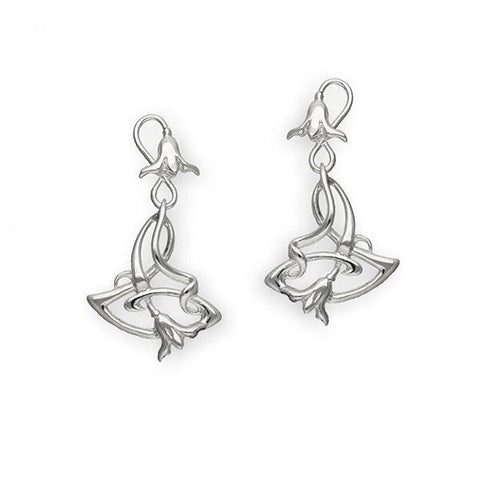 Art Nouveau Silver Earrings E243