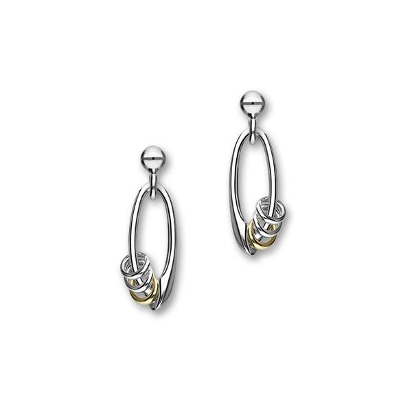 Anniversary Silver Earrings E994