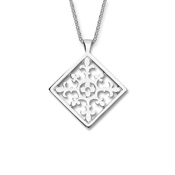 Orkney Traditional Silver Pendant P1140
