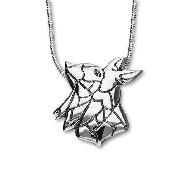 Maeshowe Dragon Sterling Silver Pendant HIS P1149