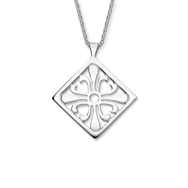 Orkney Traditional Silver Pendant P1198