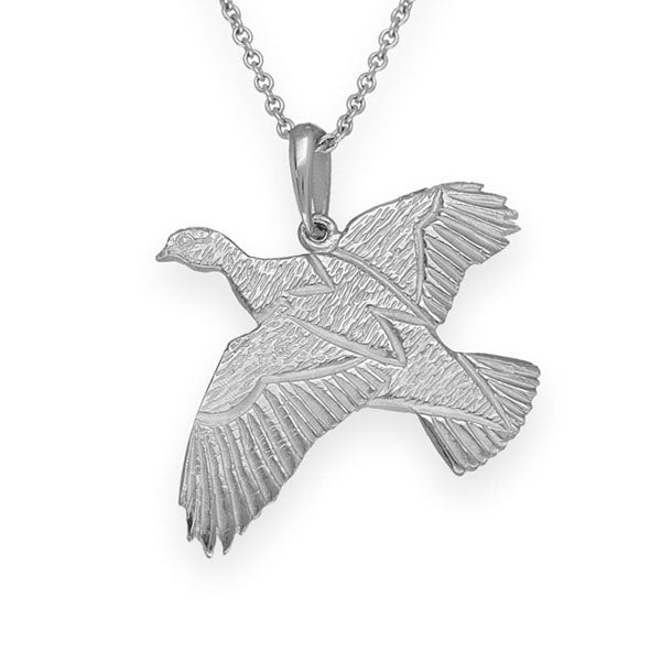 Nature In Flight Silver Pendant P120