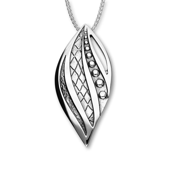 Sterling Silver Ran Collection Pendant with Stylist Space P1287