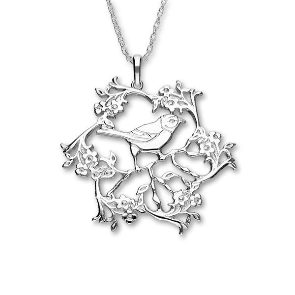 Nature In Flight Silver Pendant P133
