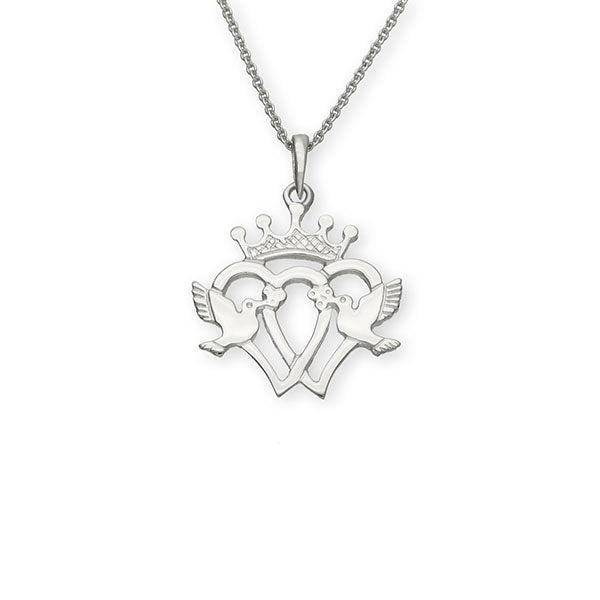 Luckenbooth Silver Pendant P137