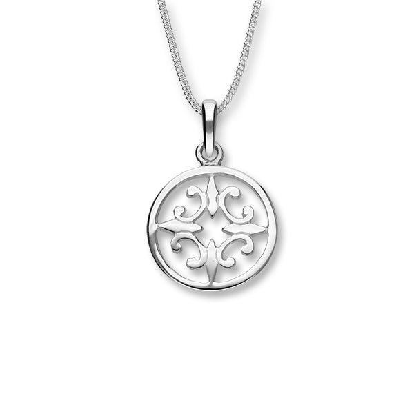 Orkney Traditional Silver Pendant P340