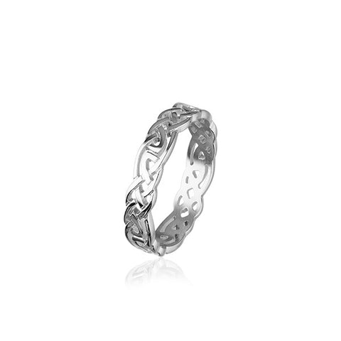 Celtic Silver Ring R129